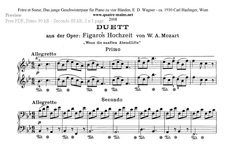 flohwalzer klaviernoten kostenlos ausdrucken