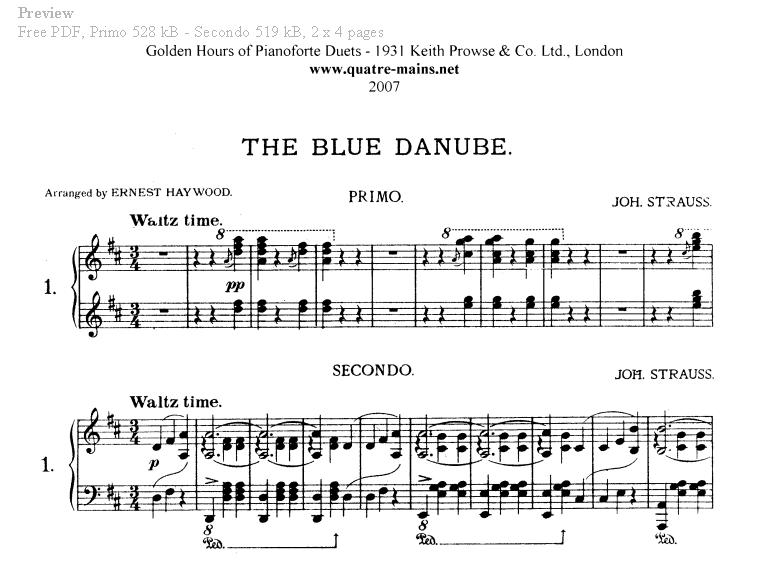 Strauss ii: the blue danube waltz, op. 314 by wiener philharmoniker.